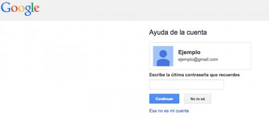 cambiar contraseña cuenta gmail