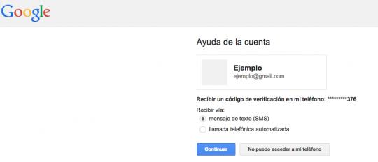 cambio contraseña gmail