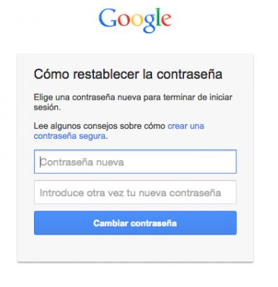 introducir contraseña gmail