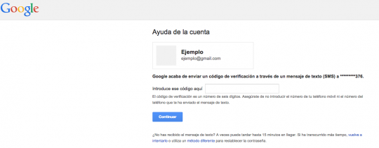 verificación cuenta gmail